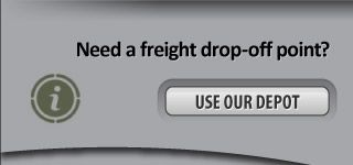 Need a freight drop-off point? - Use our depot