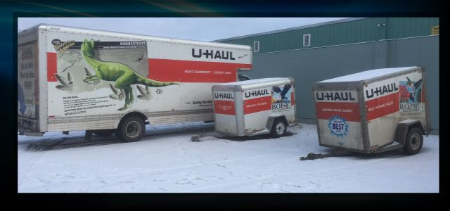 u-haul and trailers